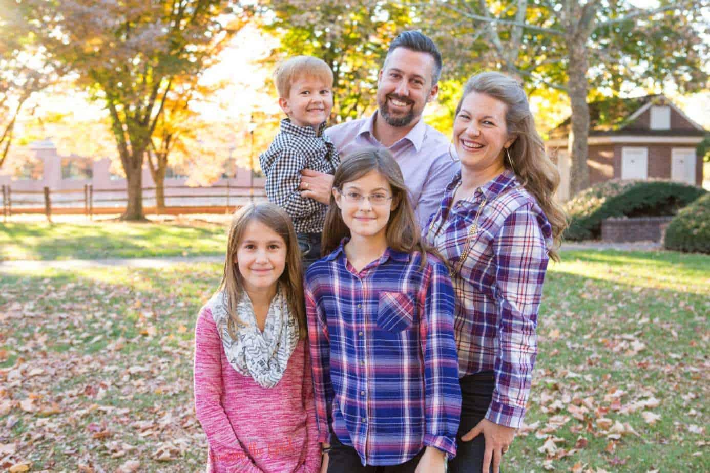 Savoring the Good Family Photo