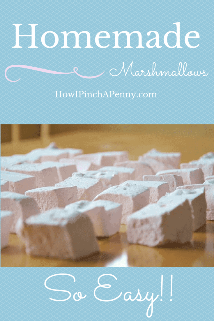 Homemade Marshmallows from Howipinchapenny.com