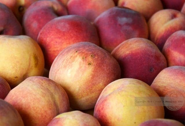 How To Freeze Summer Ripe Peaches