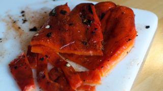 How to roast a pepper on a gas stove
