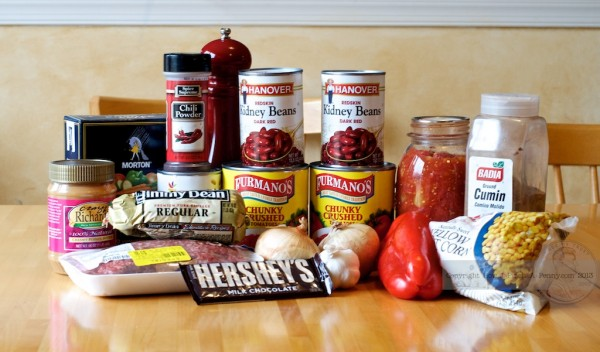 easy chili recipe ingredients
