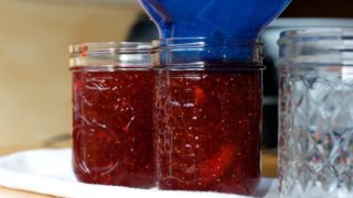 Strawberry Jam Made With Sure Jell.
