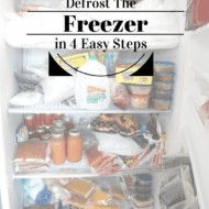 How To Defrost The Freezer In 4 Steps