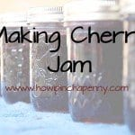 Making Cherry Jam