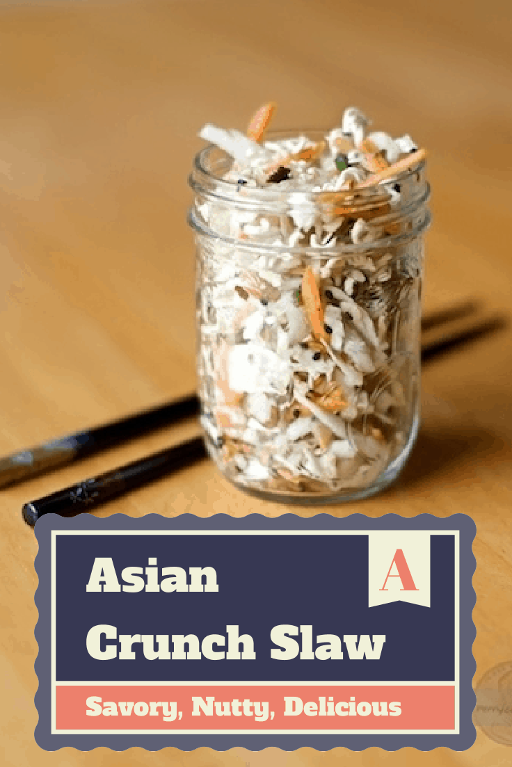 Crunchy Asian Slaw