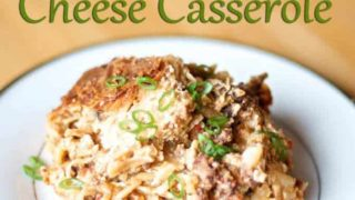 Crockpot Hash brown, Sausage, Egg & Cheese Casserole