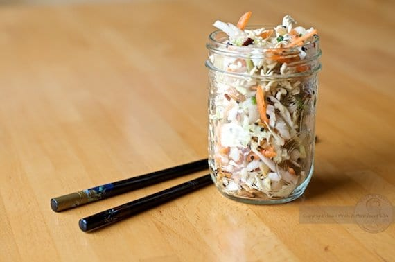 Crunchy Asian Slaw from How I Pinch A Penny