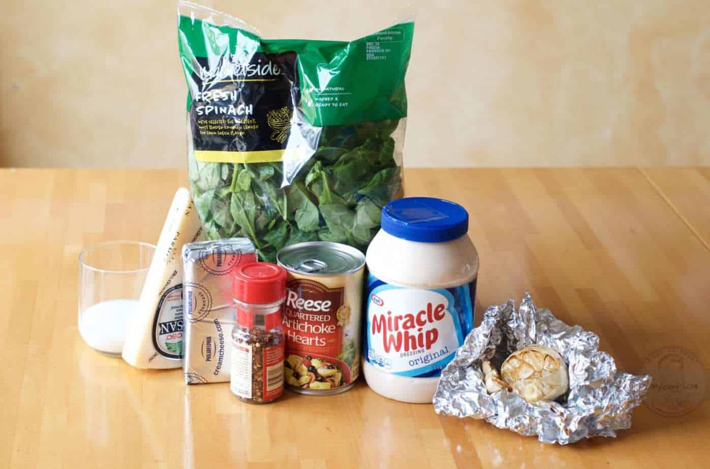 artichoke spinach dip ingredients