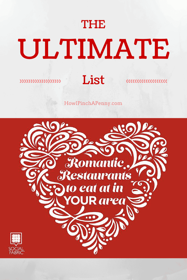 The Ultimate List Of Romantic Restaurants Across the United States from Howipinchapenny.com