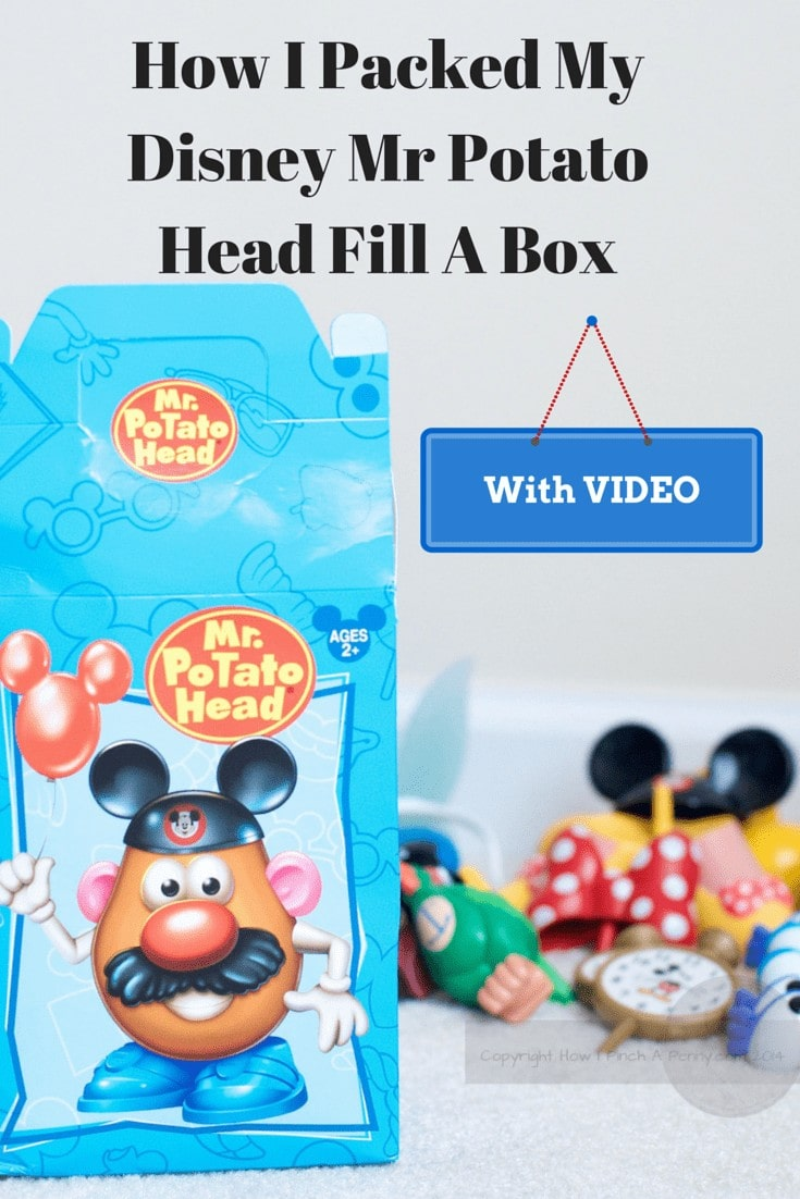 How I Packed My Mr. Potato Head Fill A Box at Downtown Disney from howipinchapenny.com