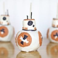 Caramel Apple Inspired by Star Wars BB-8 Droid