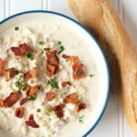 Super Simple Home Made Corn Chowder With Bacon