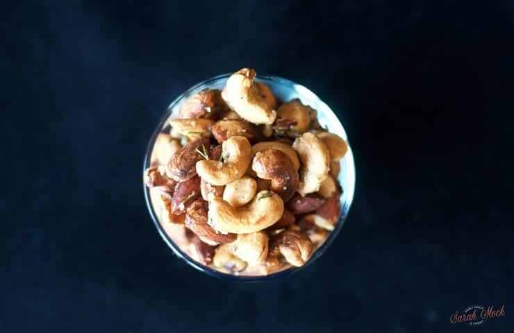 Savory Rosemary Mixed Nuts