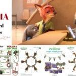 ZOOTOPIA – Holiday Themed Activity Sheets