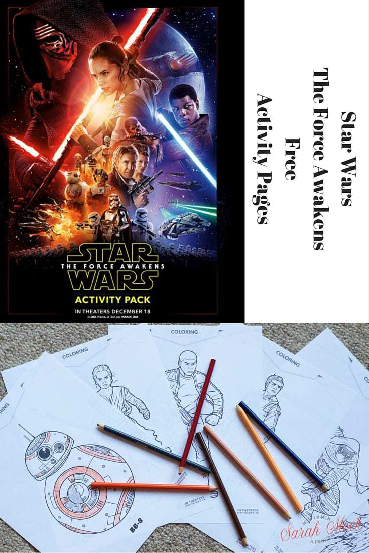Star Wars: The Force Awakens Free Printables. Coloring Sheets, Mazes, Memory Game