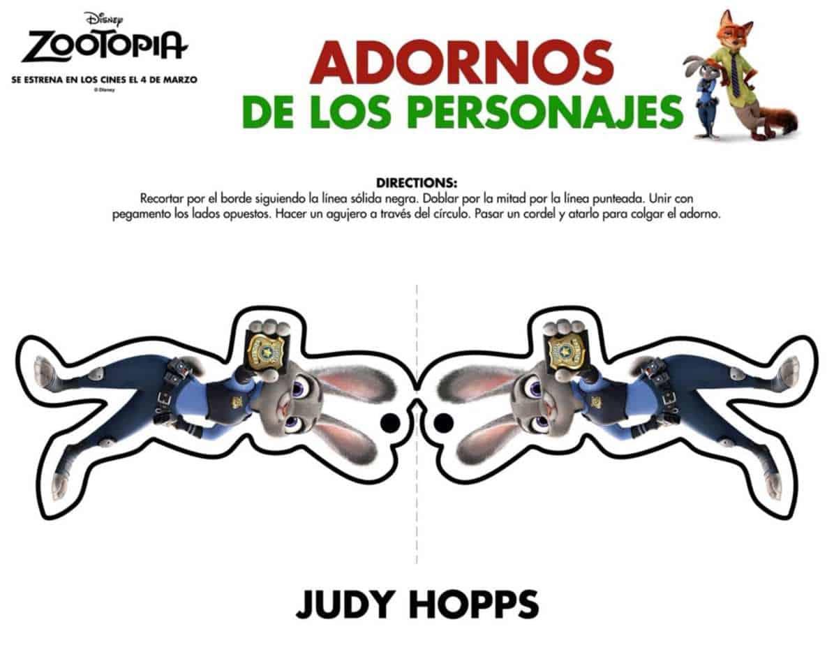 ZOOTOPIA - Holiday Themed Activity Sheets
