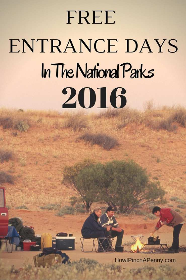 Free National Parks Admission Days for 2016