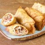 Easy Cheesesteak Egg Roll Recipe