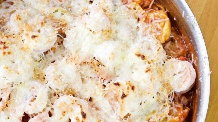 Shrimp and Tortellini Bake Recipe