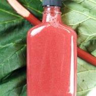 Rhubarb Syrup Recipe