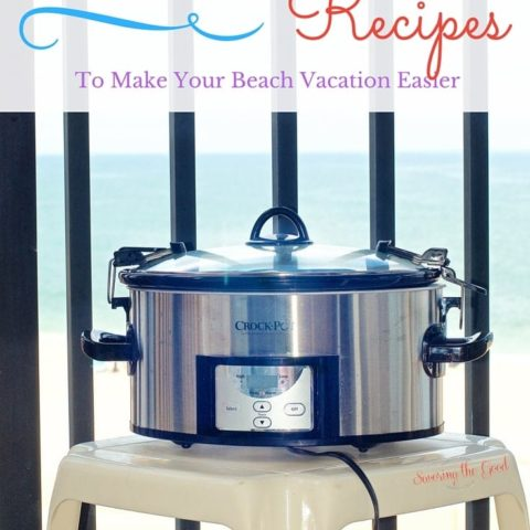 9 Beach Crockpot Meals To Make Your Beach Vacation Easier. You want to eat delicious food but don't want to spend hours in the kitchen like you do at home. These beach crockpot meals will keep your hand out of the kitchen and your toes in the sand!
