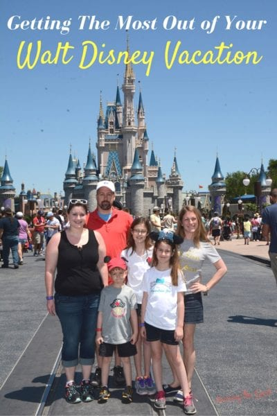 Getting The Most Out of Your Walt Disney Vacation