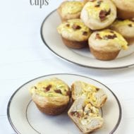 Bacon Cheddar Breakfast Cups