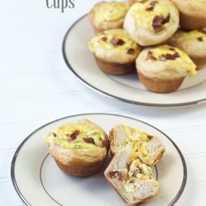 Bacon Cheddar Breakfast Cups