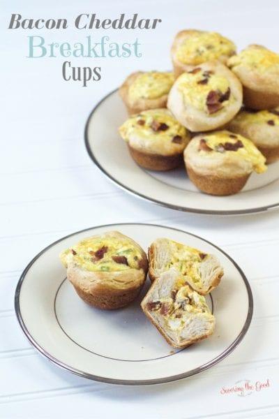 Bacon Cheddar Breakfast Egg Cups