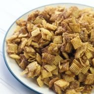Easy Churro Chex Snack Mix