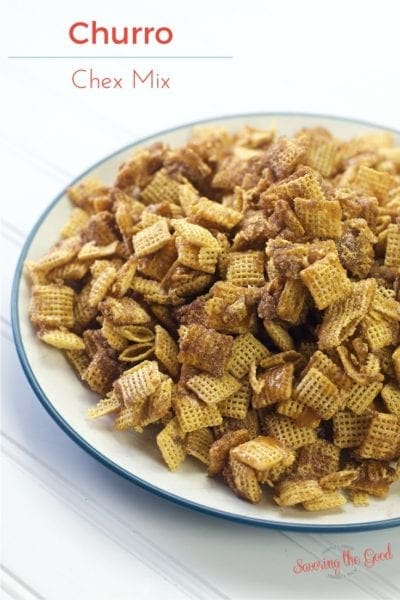 Easy Churro Chex Snack Mix Recipe with Video Instructions