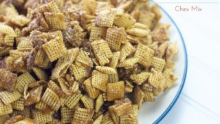 Churro Chex Mix Recipe