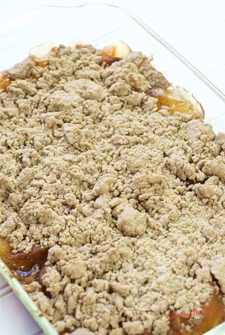 4 Ingredient Apple Dump Cake Recipe