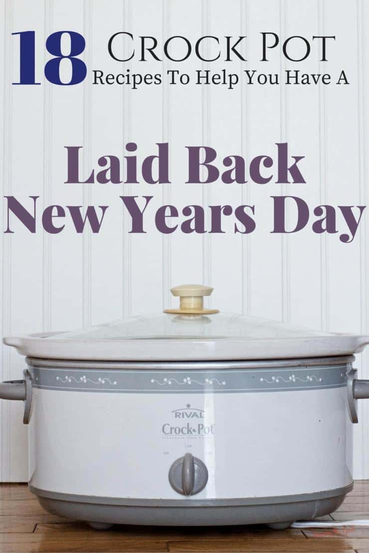 19 Crock Pot Recipes To Help You Have A Laid Back New Years Day