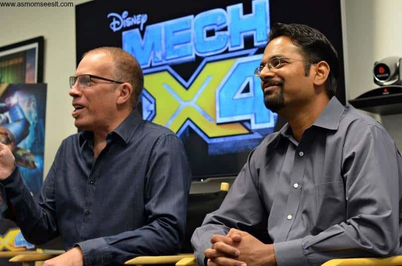 MECH-X4 Cast and Directors Talk Friendship, Robots and Being Kids