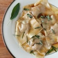 Easy Homemade Pumpkin Ravioli Recipe