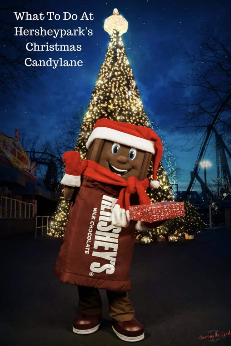 On select dates from November 11-January 1 you can expereince Hersheypark with a holiday flair and sweetness that only Hersheypark can provide.