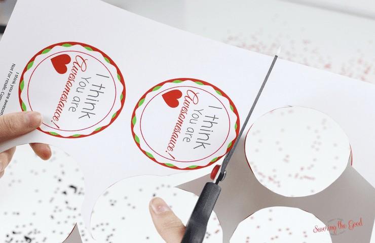 Free Printable Applesauce Valentine