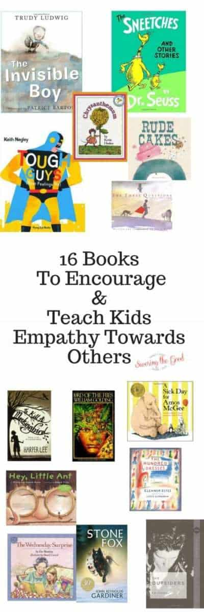 16 Books To Encourage and Teach Kids Empathy Towards Others.