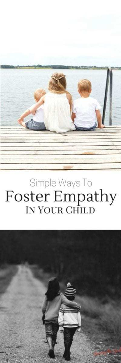 Simple Ways To Foster Empathy In Your Child. Toys can be a means to sharing, learning, caring and learning but without empathy a child is not complete. Emotional empathy is being able to read others emotions. Are your kids able to tell when another person is happy, scared, confused or excited and then the appropriate reaction to that emotion?