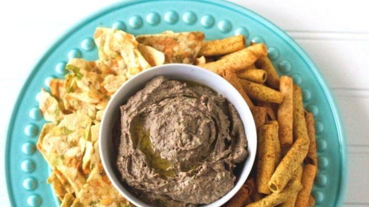 Gluten Free Black Bean Hummus