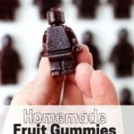 Homemade Fruit Gummies Using Jam Instead of Corn Syrup