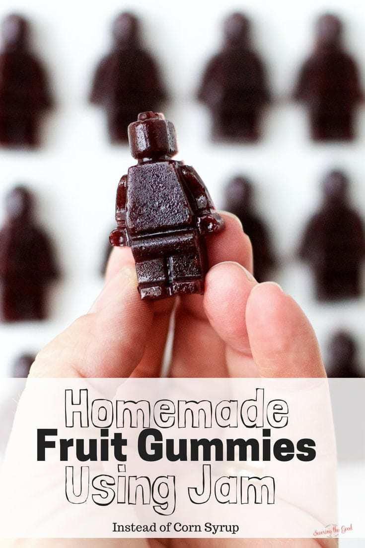 Homemade Fruit Gummies Using Jam Zero Corn Syrup. This recipe has two ingredients in it and it is super simple to create.