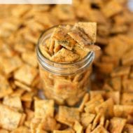 Homemade Seasoned Ranch Cheese Crackers Recipe
