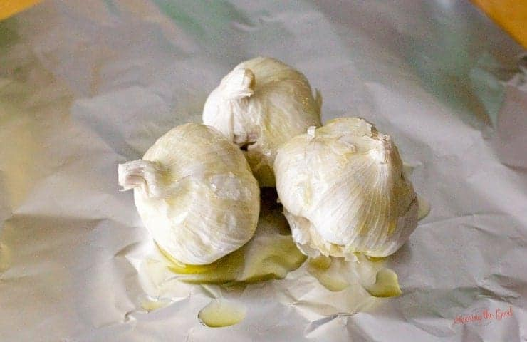 How To Roast Garlic And Store In Olive Oil