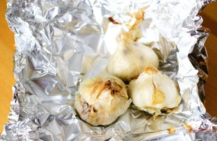 Roast Garlic Store Olive Oil