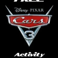 Cars 3 Official Trailer and Printable Activity Pages