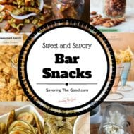 Simple Sweet and Savory Bar Snack Recipes To Make At Home