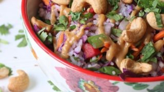 Cold Thai Rice Salad