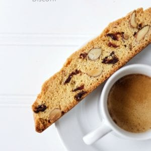 Cranberry, Almond Biscotti Recipe. Step By Step, Easy Instructions.